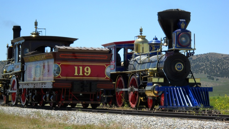 Golden Spike National Park @ Promontory Pont   Go see the train meeting re-enactment on a Saturday