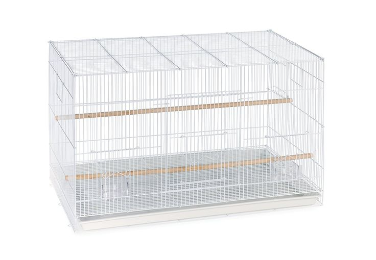 AmazonSmile : Prevue Pet Products Flight Cage, White : Bird Cage : Pet Supplies