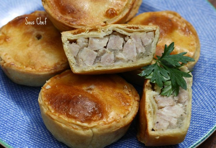 not hard to make, and are very economical as one packet of sausages makes 12 individual pies