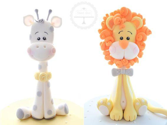 BUNDLE:  Baby Giraffe and Baby Lion Tutorials