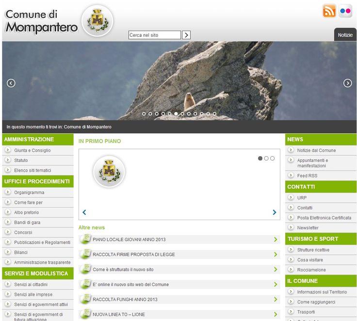 Comune di Mompantero www.comune.mompantero.to.it #GovCube