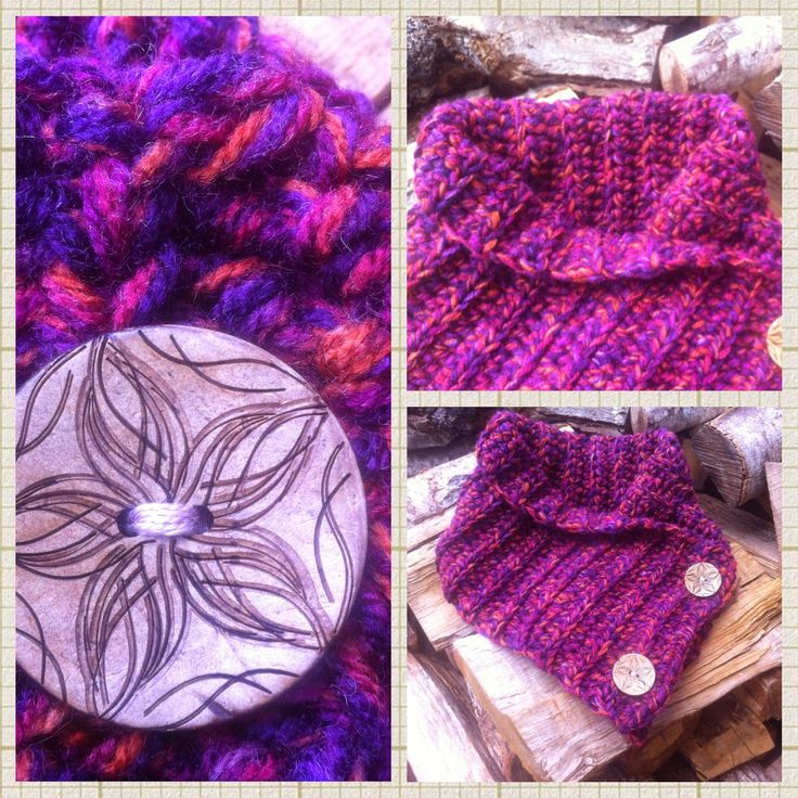 In & around my house : crochet a scarf !!!