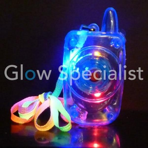 Led Mobile phone necklace