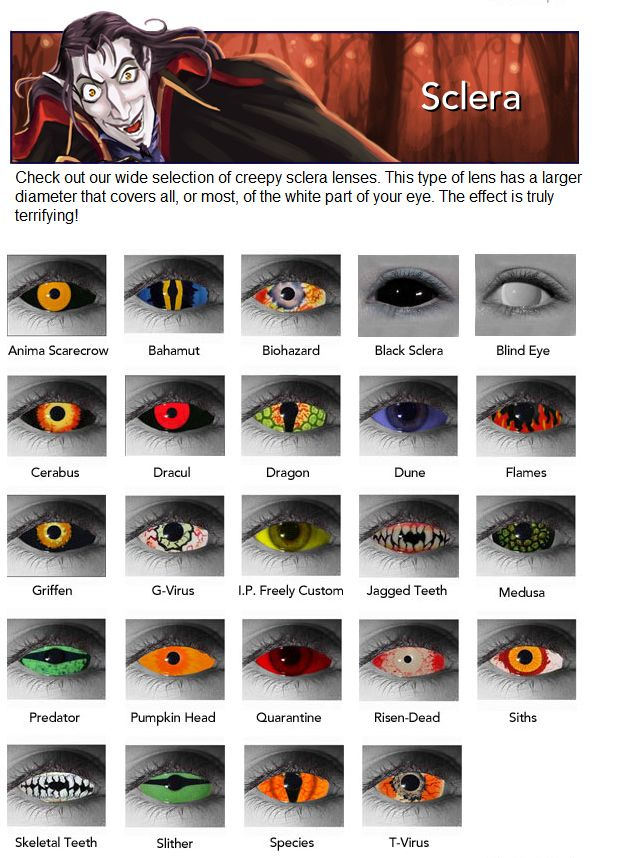 Get Halloween Contact Lenses and use 25% Off coupon to save on your order.