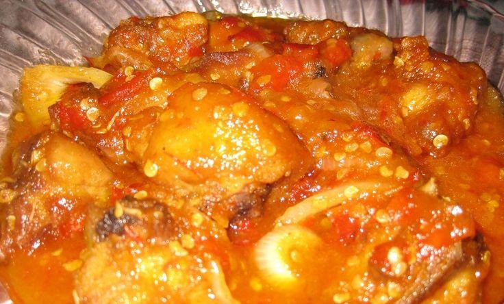 Ayam Masak Berlada Resepi Mudah Dan Ringkas Recepten Voedsel Ideeen Kabeljauw
