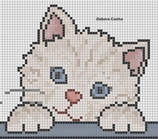 Ângela Bordados: Eu amo gatinhos e vcs?