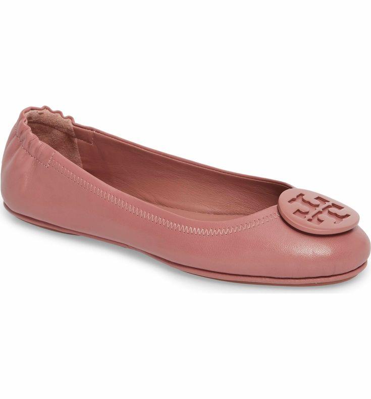 'Minnie' Travel Ballet Flat. Ballet FlatsTory BurchShoe ...
