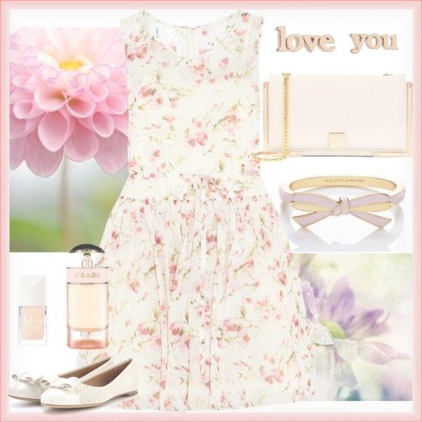 """Summer garden"" by bogyoemo on Polyvore"