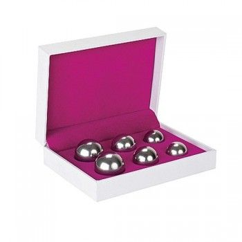 A 3-level ben wa balls set to suit begginers to masters