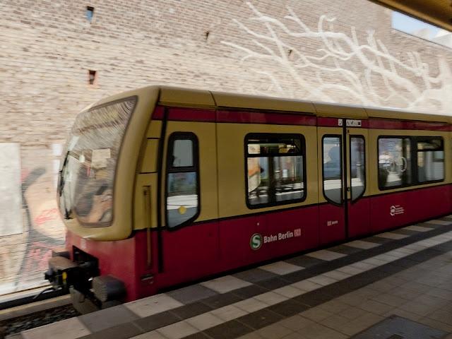 Fancy S Bahn Berlin Germany