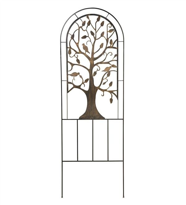 Main image for Metal Garden Trellis with Tree of Life Design $99