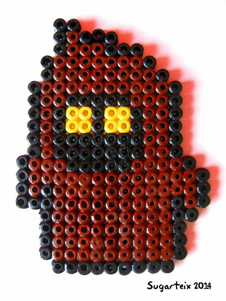 Imán de Jawa en hama midi. Si te gusta puedes adquirirlo en nuestra tienda on-line: http://www.mistertrufa.net/sugarshop/ Ver más en: http://mistertrufa.net/librecreacion/groups/hama-beads/