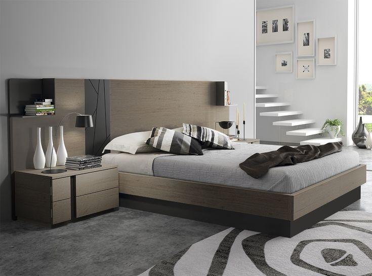 Dormitorio en chapa industrial y laca. Disponible en varios acabados.  🌟Más muebles en www.hiper-mueble.com