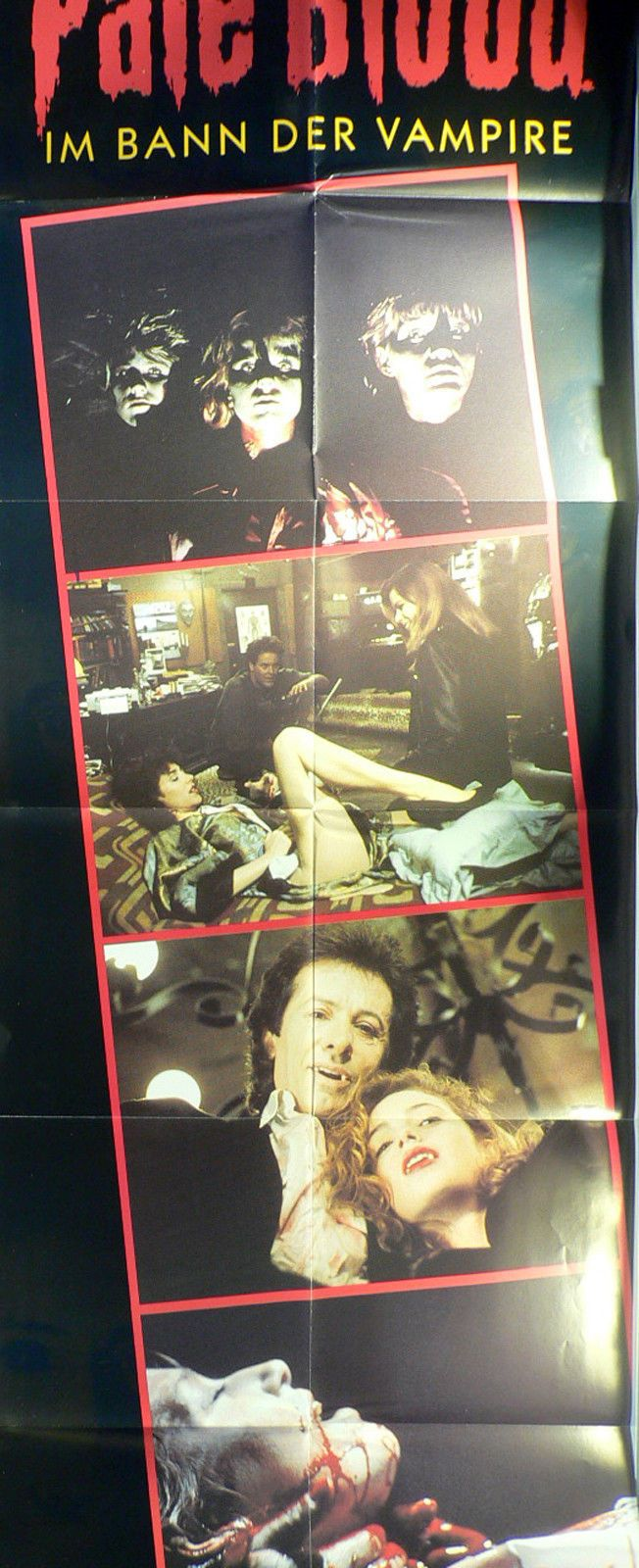 "PALE BLOOD (WINGS Hauser, Pamela Ludwig & George Chakiris, US, 1990), from the distributors of ""Hostage"", ""L.A. Bounty"", ""Rush Week""... As seen on a PAL VHS tape by IMV (EuroVideo, Germany, EU, videoposter only) #metalcore  #Zmovies #bohemian #poikatytöt  #goth #indie #arthouse #EU27 #vampires #occultisme #mumblecore #Nostalgie #kunst #Jane #Birkin #taidot #Lindemann #Rammstein #Erasmus #Europeseunie #feminisme #elokuva #Brexit #Trump #Femen #Karen #Elson #deathcore  #gothic #EEC #90er…"