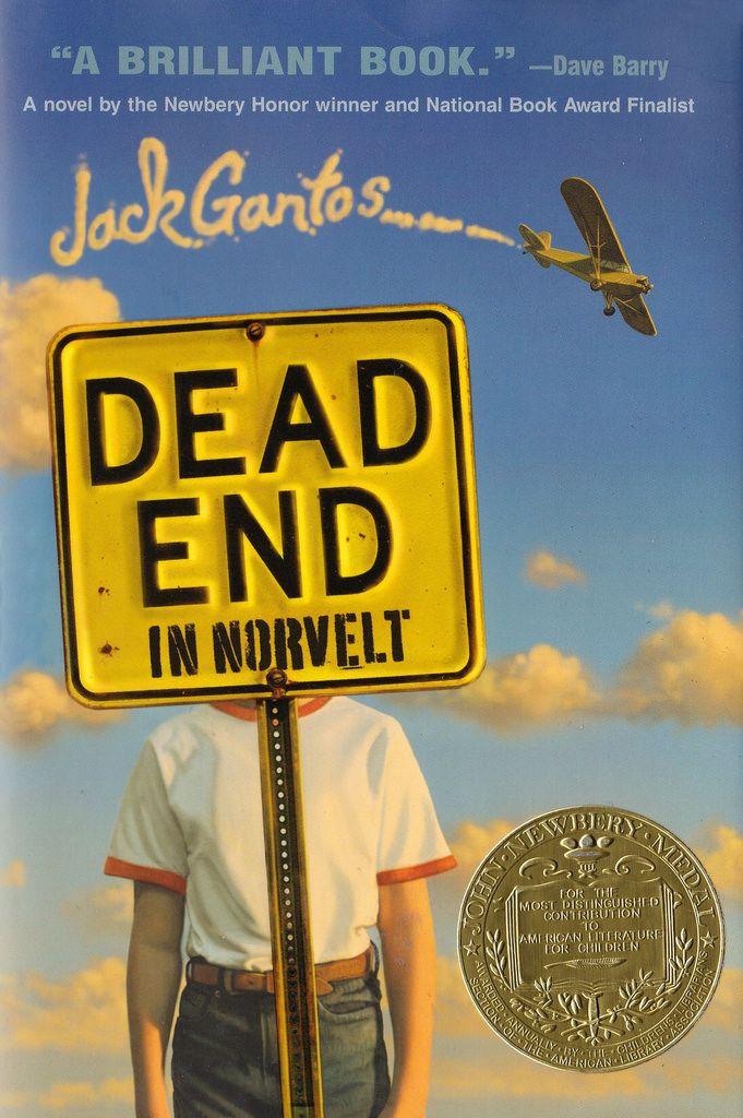 Dead End in Norvelt - câștigătorul anului 2012 Autor: Jack Gantos