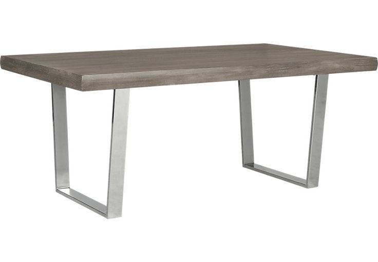 Cindy Crawford Home San Francisco Gray Dining Table from  Furniture