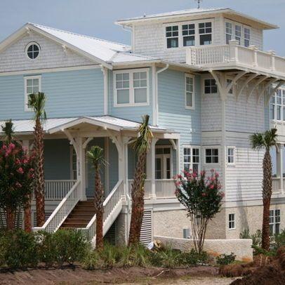 Houses Brick House Colors Curb Appeal Coastal Cottage Beach House