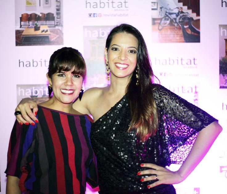 Renata Melendez e Flávia Amorim na inauguração da Mostra Casa Viva. #casaviva #habitatnacasaviva