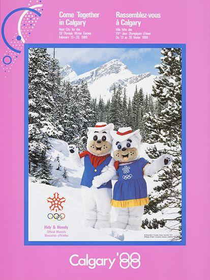 Hidy & Howdy, 1988 Olympic Winter Games, Calgary