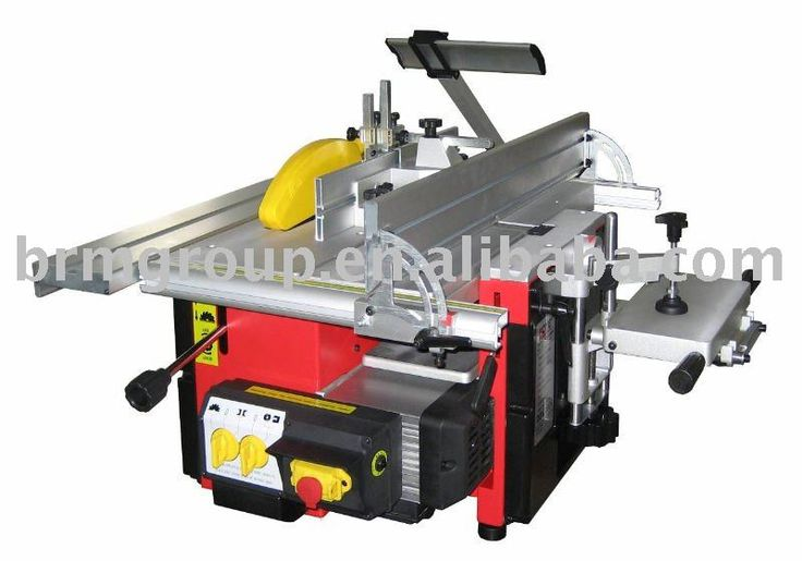 5 In 1 Woodworking Combination Machines Bm10308 Table Saw ...