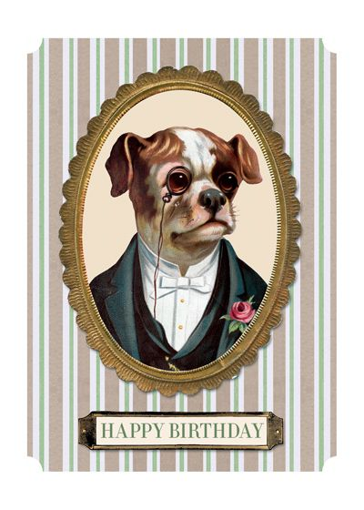 Dapper Dog | Birthday Greeting Cards