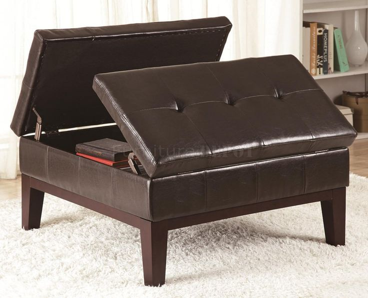 Leather Ottoman with storage - 25+ Best Ideas About Leather Ottoman With Storage On Pinterest