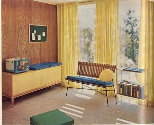 99 best Interiors - Vintage Mid Century Photos images on Pinterest ...