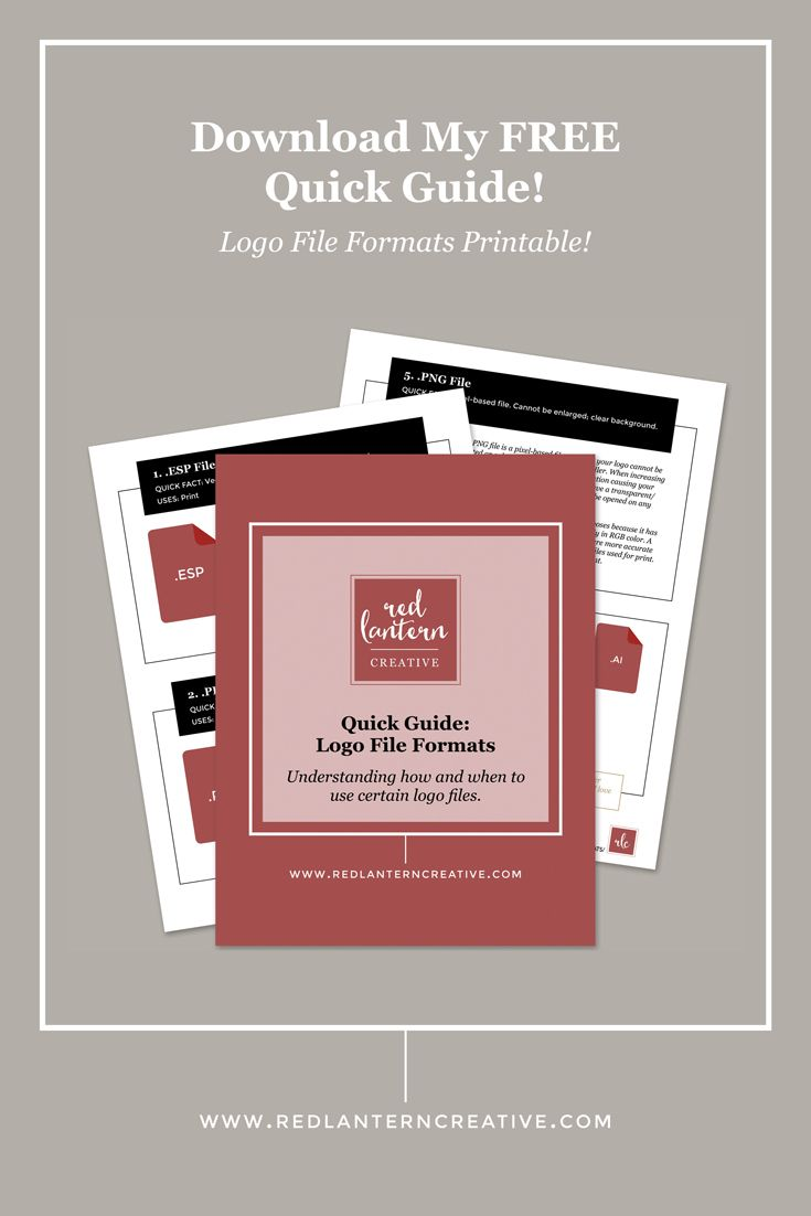 Click to get my free logo file formats printable!
