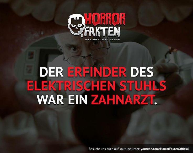 ❝Das erklärt so einiges..Wer hat angst vor Zahnärzten?❞ #horrorfakten