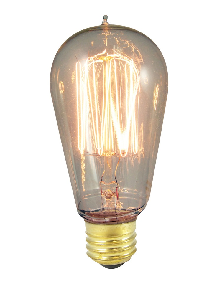 "Edison Style Cage Bulb (Set of 2) Nostalgic, historic-style ST18 cage-style incandescent bulb  40-watts, 120 volts, 135 lumens  Medium screw E26 base fits all standard American screw-in sockets  Warm glow lasts an average of 3000 hours  Perfect for chandeliers, sconces and outdoor lighting  Measures 2¼ inches in diameter by 5 inches in height in the ""I'M LOOKING FOR: INDUSTRIAL-RUSTIC STYLE"" sale. I can't make myself pay $32 for them though."