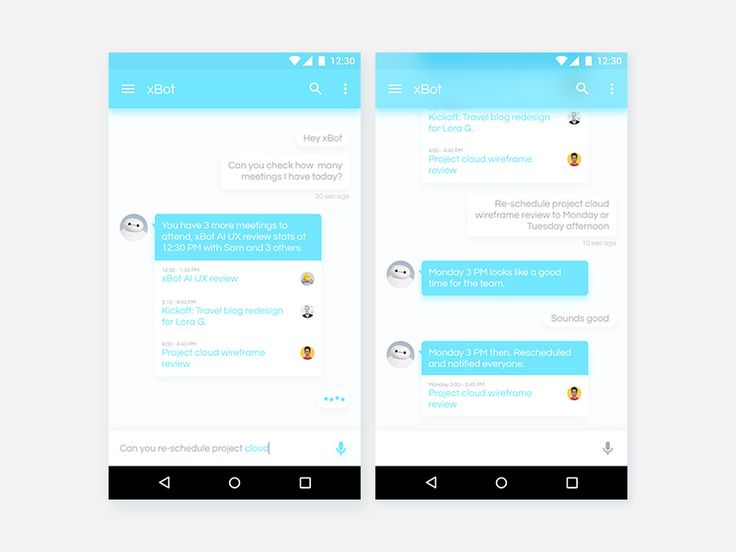 xBot AI Personal Assistant