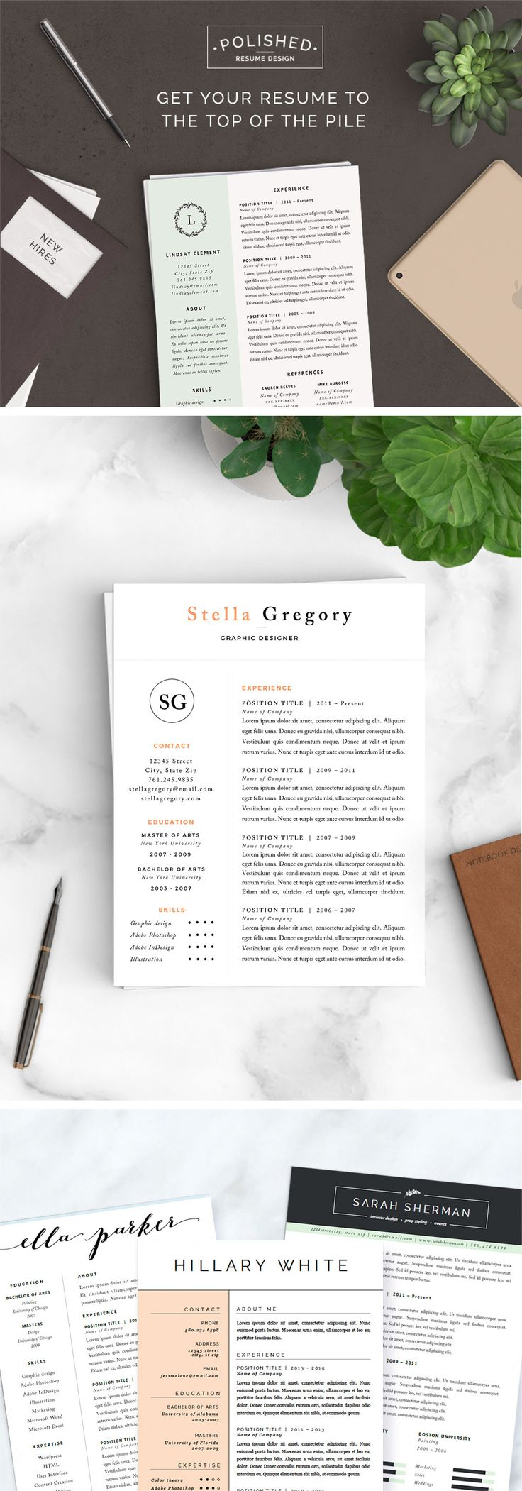 Amazing Resume - Picture Ideas References