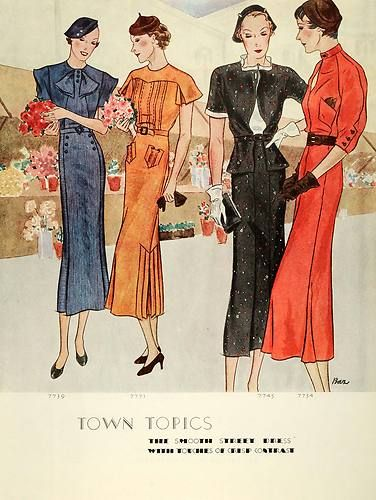 Charming Warm Weather Vintage Inspired Frocks Featuring: 17 Best Images About 30's On Pinterest