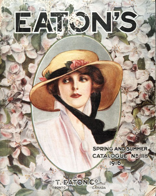 The T. Eaton Co. Limited, Toronto, Spring and Summer Catalogue, No. 118, 1916