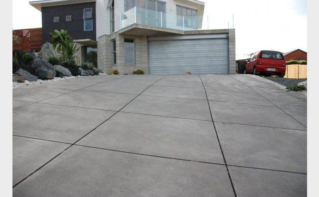 Design straight tiled effect colour 621 texture heavy for Acid wash concrete driveway