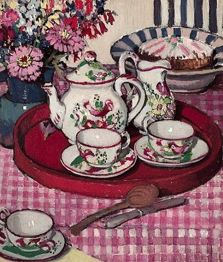 Margaret Preston  Thea Proctor's Tea Party   1924