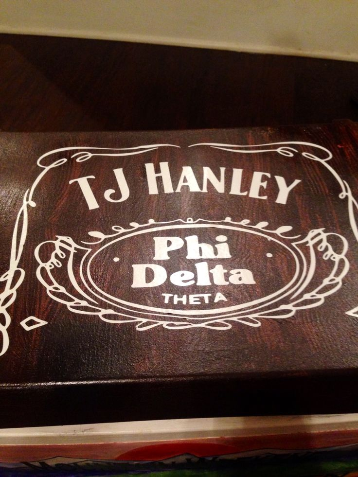 Jack Daniels fraternity cooler phi delta theta mountain weekend