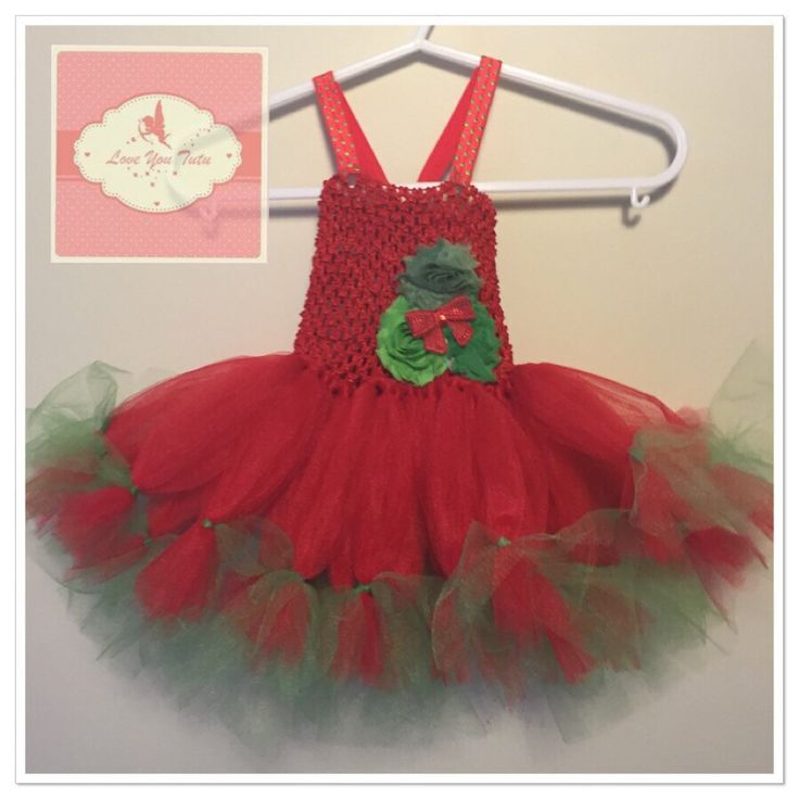 Christmas Petti Tutu dress