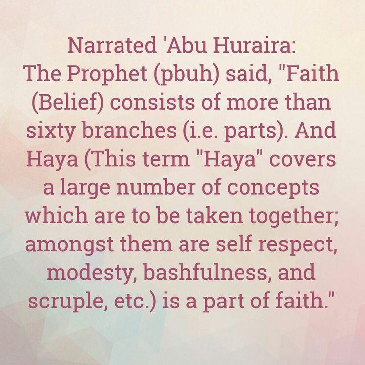 Hadees on faith
