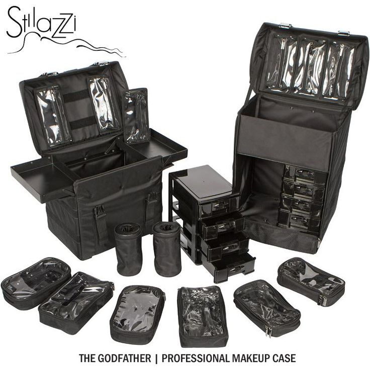 The Godfather, professional makeup case, by Stilazzi. I'd love to travel with this, however, being in my first year of Specialist make-up and hair, I cant justify paying $550 for it.