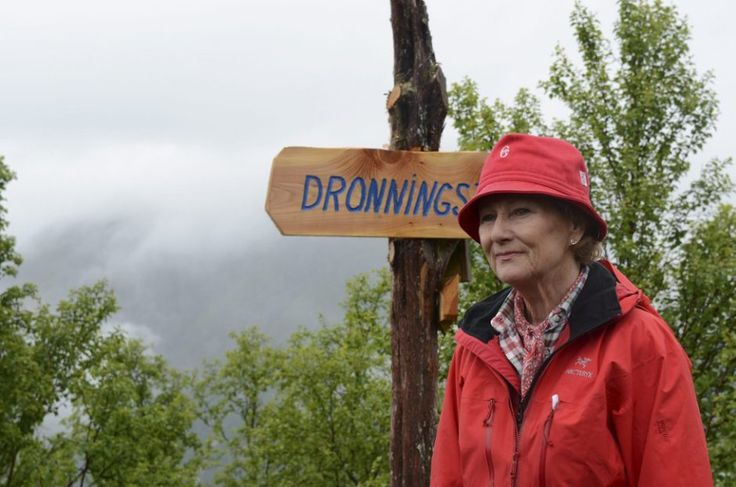 "Posted on June 30, 2013 by HatQueen....Queen Sonja of Norway opened the ""Queen's Path"", a hiking trail named in her honor in Ullensvang."