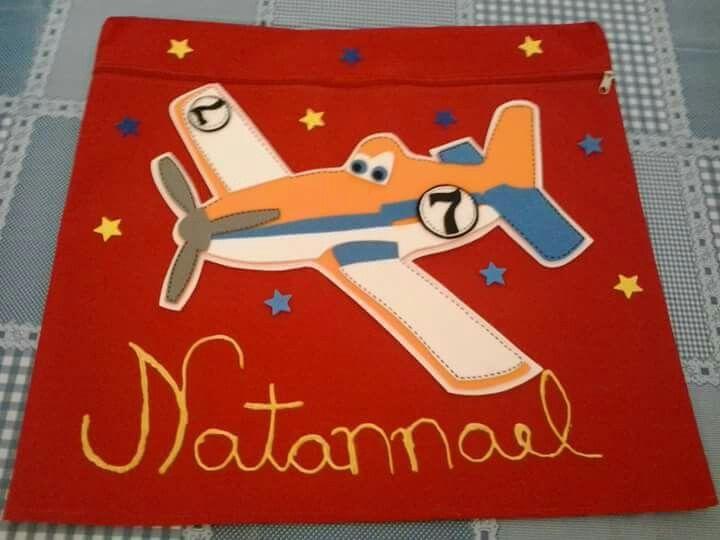 Capa de cadeira escolar dos aviões 🛩