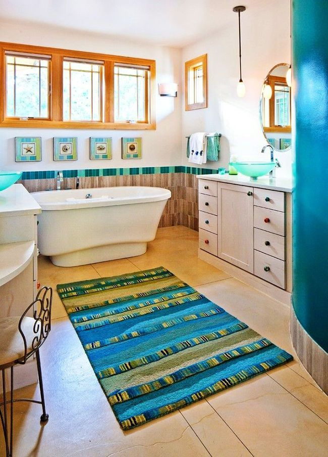 Bathroom mats beauty safety and comfort photo 09