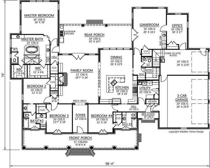 Best 25 square house floor plans ideas on pinterest for 2 story acadian house plans