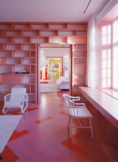 Amazing rooms from architects Tham & Videgard Hanssen, www.tvark.se