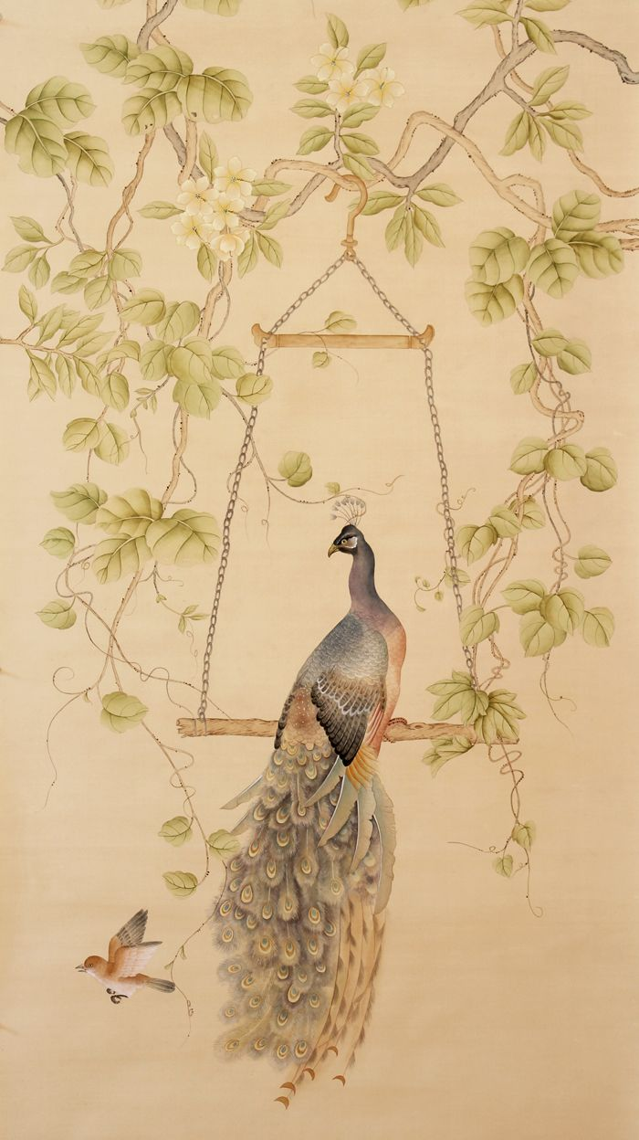 264 best murals images on pinterest chinoiserie wallpaper say hello to my newest sponsor paul montgomery maestro of murals