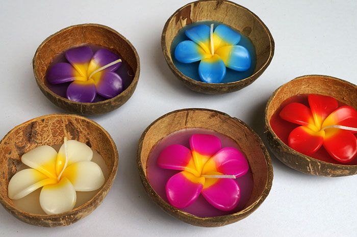 candles wholesale | Candle in Coconut Shell is made in Thailand, we're do a wholesale ...