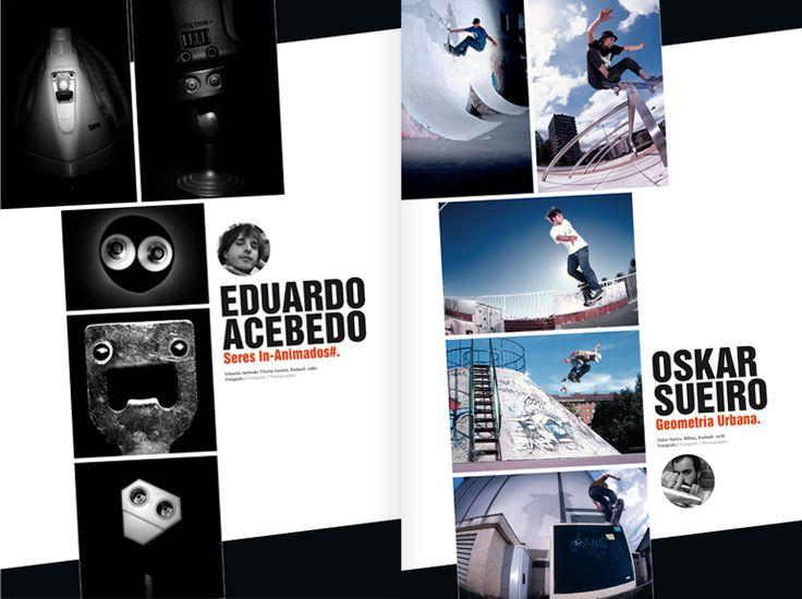 Revista Tintimám 02, Miranda estudio Vigo, Diseño de revistas, diseño editorial, diseño de catálogos, folletos, photoarte komite
