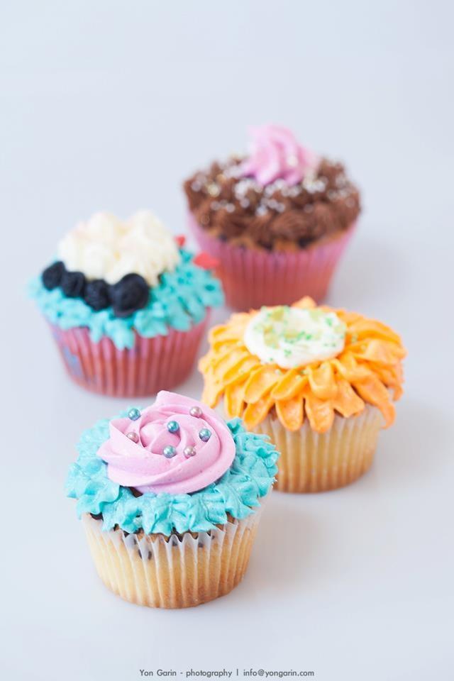 ¡Decoración de cupcakes!