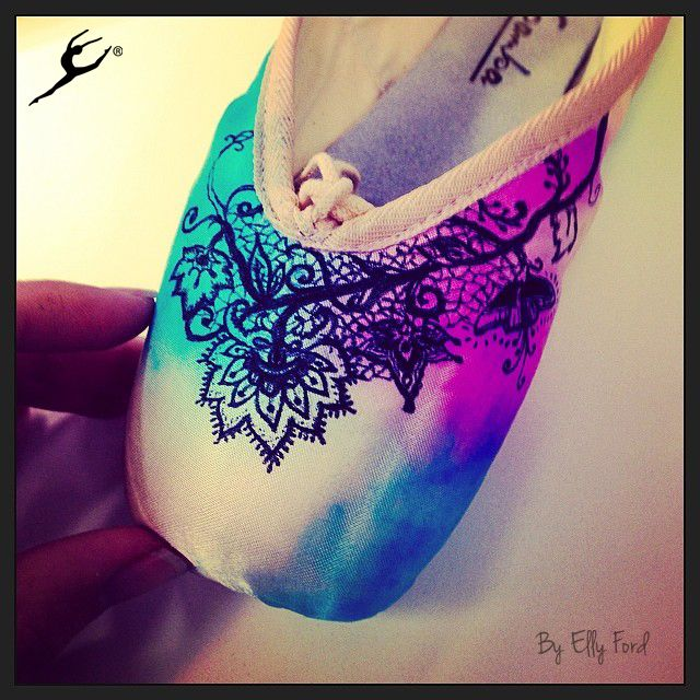 Energetiks Collector Pointe Shoes in the making! | By Elly Ford